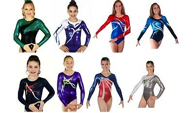 NEW! Child Small In Stock Gymnastics Competition Leotards - 10 to choose from