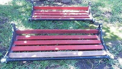 Vintage Train Luggage Racks