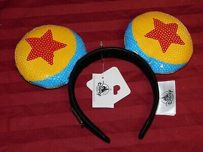 Disney Parks 2020 Pixar Ball Loungefly Mickey Minnie Mouse Ears Headband New