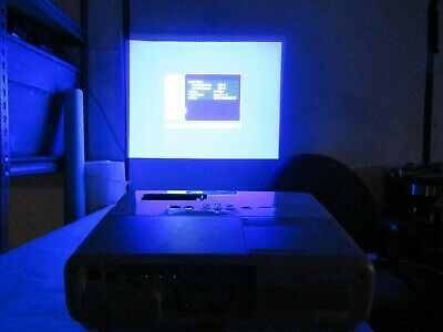 Epson PowerLite EMP-83H LCD Projector 2200 Lumens Remote Cables Manual Nice!