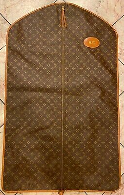 Louis Vuitton Vintage Garment Bag Two - Sided Monogram Canvas Soft Sided Luggage