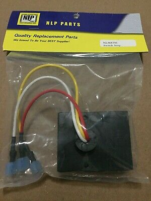 NLM4346 3 Wire NLP Switch Assembly National Liftgate Parts