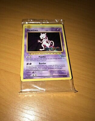 Pokemon XY Evolutions Holo Mewtwo Prerelease Promo Deck Rare Sealed Complete