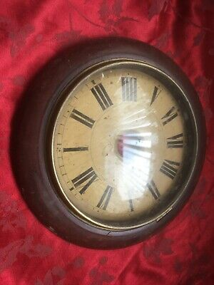 Good Black Forest Postman's Alarm Wag Wall Convex Glass Bezel And Dial