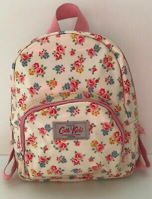 Cath Kidston London / Cath Kids Floral Girls Oil Cloth Small Backpack VGC