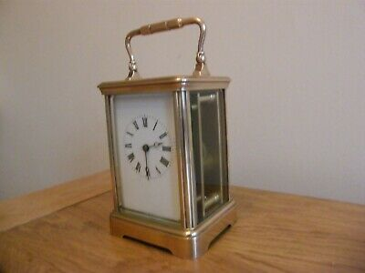 Superb condition French 5 glass carriage clock GWO