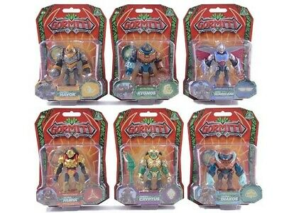 One Supplied Gormiti 8cm Action Figure Choice of Character