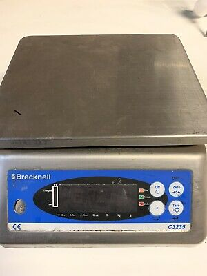 SALTER BRECKNELL C3225 Checkweigher Bench Scale CORDLESS WITH CHARGER
