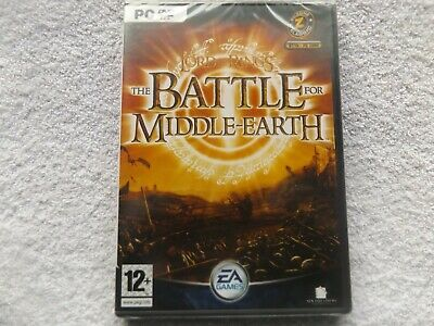 THE LORD OF THE RINGS THE BATTLE FOR MIDDLE EARTH PC-DVD ( brand new & sealed )