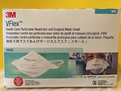 3m vflex healthcare particulate respirator and surgical mask 1804