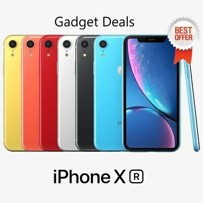 APPLE iPHONE  XR  4G   LTE  (Unlocked)   (A1984) ✔✔All GB & Colors ✔ BEST DEAL