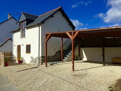 1 BEDROOM HOLIDAY COTTAGE GITE TO RENT IN BRITTANY FRANCE+Fishing Walking Relax+