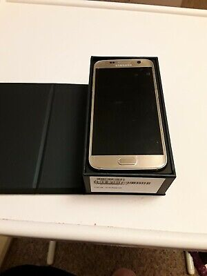 Samsung Galaxy S7 5.1 in 32GB Unlocked Smartphone - Platinum Gold