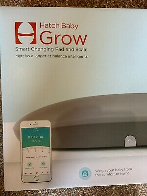 NIB Hatch Baby Grow Smart Changing Pad and Scale