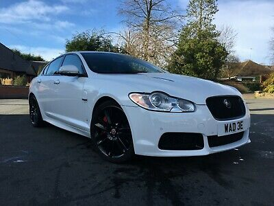2010 60 Jaguar Xf R 5.0 V8 Supercharged 4Dr Saloon*Polaris White*Very Low Miles!