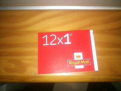 new 1st class stamps Royal mail book of 12 uk stamps