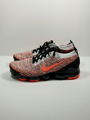 Nike Air Vapormax Flyknit 3 | Bright Mango / Black | AJ6900-800 | Mens Size 9
