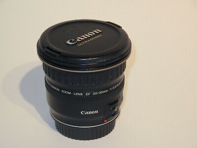Canon EF 20-35mm f/ 3.5-4.5 USM Wide Angle Zoom Lens Gently Used