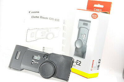 [Mint] Canon Date back DB-E2 for EOS-1V & EOS-3 Film Cameras w/ Box and Manual