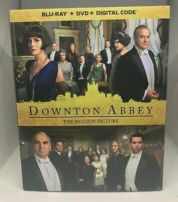 Downton Abbey (Movie, 2019) (Blu-ray + DVD + Digital) NEW w/SLIPCOVER