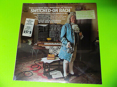 SWITCHED-ON BACH Walter Wendy Carlos SEALED LP MS 7194 Columbia Electronic Moog