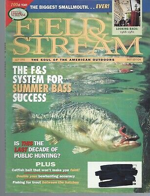 Field of Stream Magazine Lot of 6 Issues 1995 +