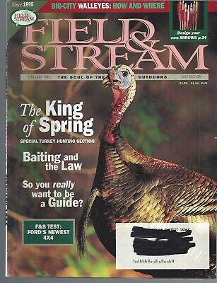 Field of Stream Magazine Lot of 5 Issues 1996 +