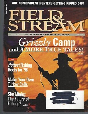 Field of Stream Magazine Lot of 4 Issues 1998 +