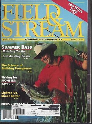 Field of Stream Magazine Lot of 7 Issues 1991 +