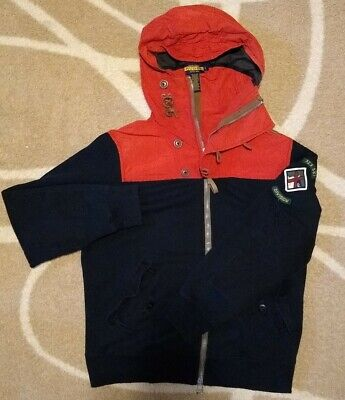 Polo Ralph Lauren Ski Division Club Mt. Div Hoodie Jacket Anorak Large