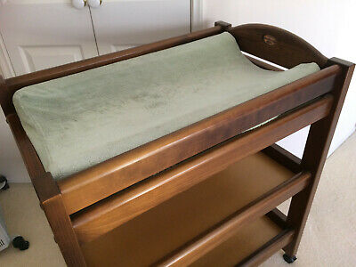 Boori Country Collection Baby Change Table With Cushioned Mat and Cover