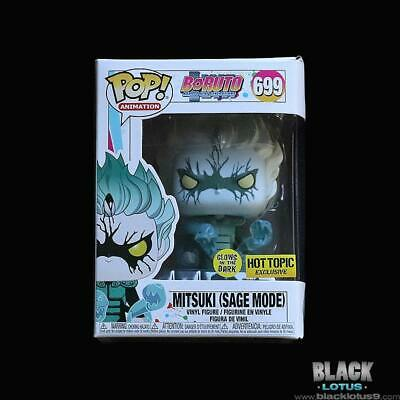 Funko Pop! Mitsuki Sage Mode Glow Boruto Naruto Hot Topic IN STOCK Pop 699