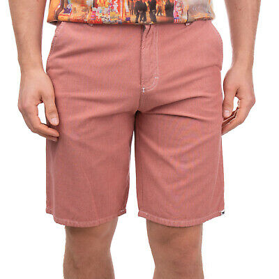 ETNIES Bermuda Shorts Size 28 Two Tone Patched Logo Contrast Stitching