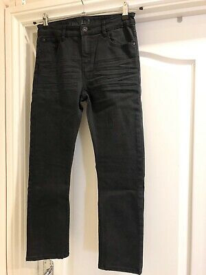 Boys H&M Black Skinny Fit Stretch Jeans Size 10-11y