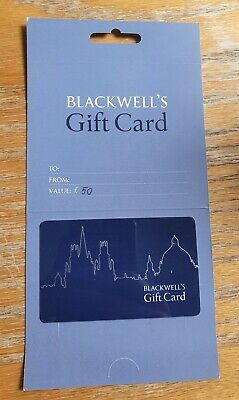 Blackwell's £50 Gift Card (Brand New)