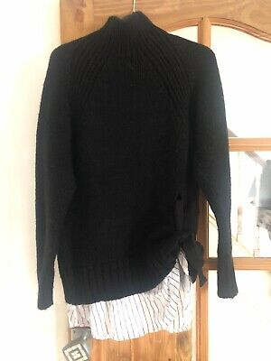 River Island Ladies Wool Jumper Size Xs Fit  A Uk 10 Worn Once Immaculate