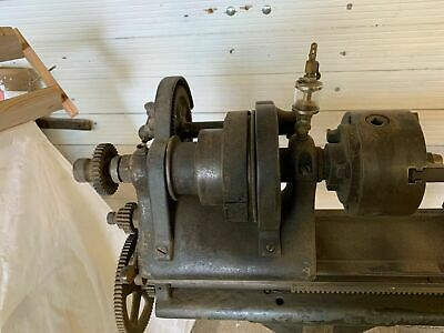 W. F. & J. Barnes Co. Lathe With Lots Of Extras