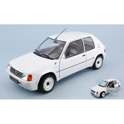 Peugeot 205 1.3 Rally 1988 White SOLIDO 1:18 SL1801701