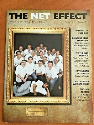 The Net Effect Magazine - Volume 1 Issue 1 - 45 Pages - Published 2008