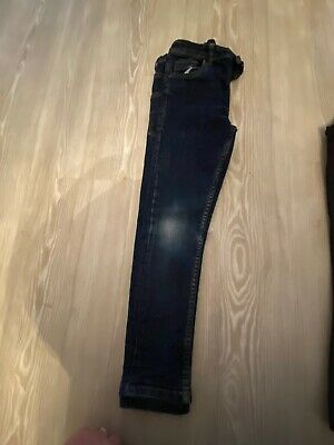 Next Boys Skinny Blue Jeans Size 7yrs