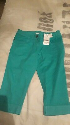 Bnwt Next Girls Cropped Trousers Age 11