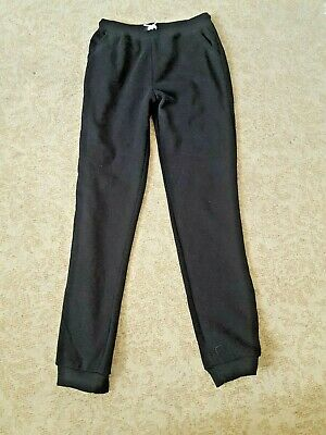 Primark girls lounger - bottoms size 13 - 14 yrs - black