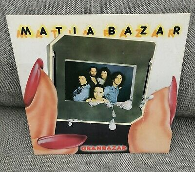 MATIA BAZAR 'Granbazar' TOP ITALIAN POP ROCK/SOFT PROG ROCK LP FIRST PRESS 1977