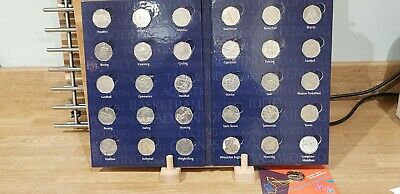 50p Sports Album. London 2012 Olympic Sport collection. Plus Completer medallion
