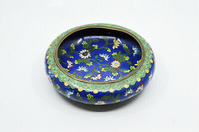 Antique Chinese Export Cloisonne Bowl, 6 Inches wide - 🐘