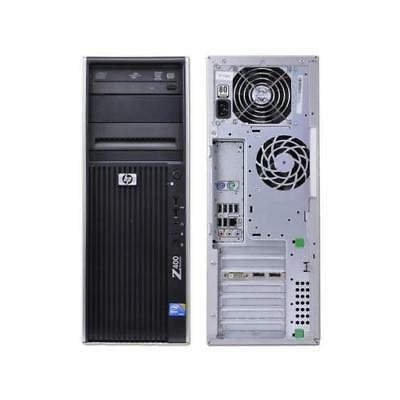 HP Z400 PC Intel Xeon 6 Core  X5650  12GB RAM 120GB SSD
