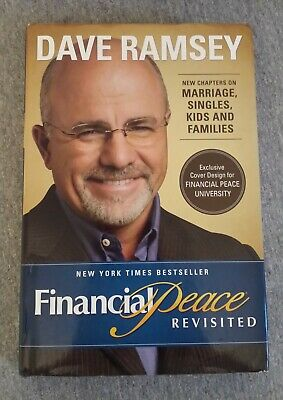 Financial Peace Revisited by Dave Ramsey 2003 Hardcover Dust Jacket