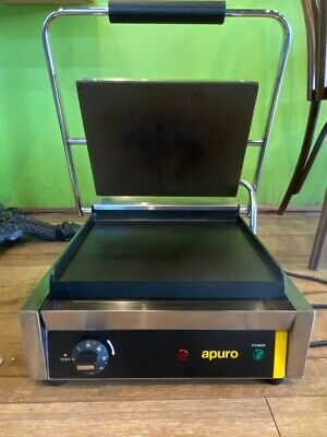 Commercial Apuro GH577-A Bistro Large Contact Grill - Smooth Plates