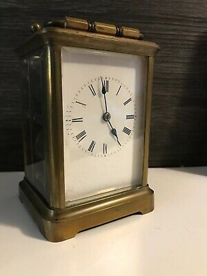 Henri Acier Repeating On Bell carriage clock C1800's