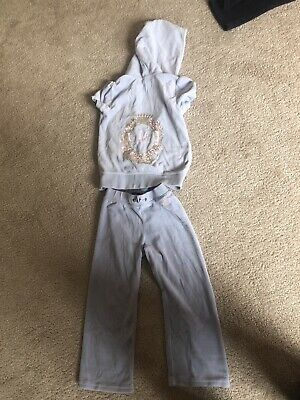 Girls Juicy Couture Tracksuit Age 4/5